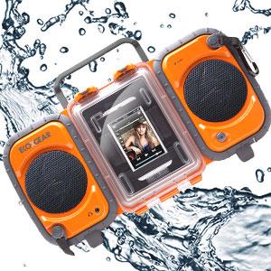 waterproof floating radio